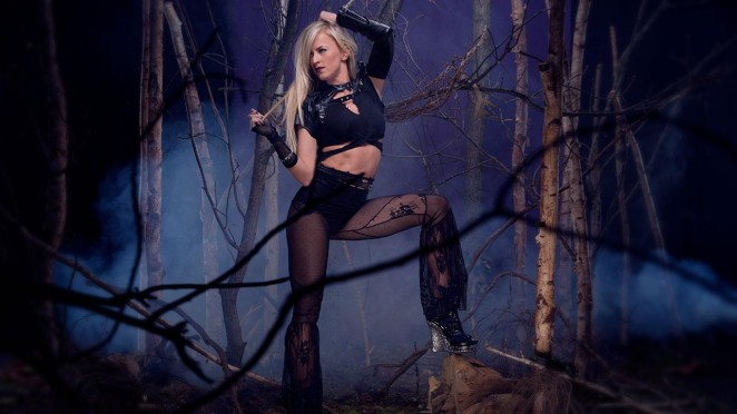 Summer Rae - WWE Divas Deadman Photoshoot 2015