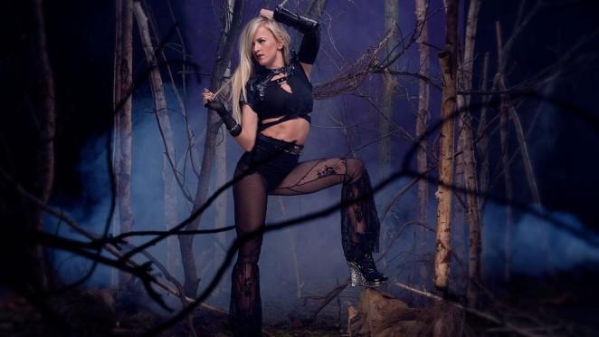 Summer Rae - WWE Divas Deadman Photoshoot 2015