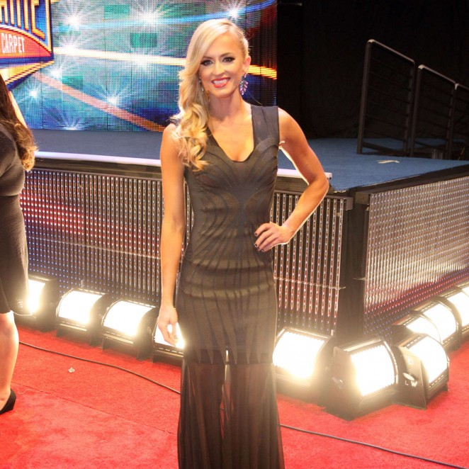 Summer Rae – WWE Hall of Fame Ceromony 2016 in Dallas
