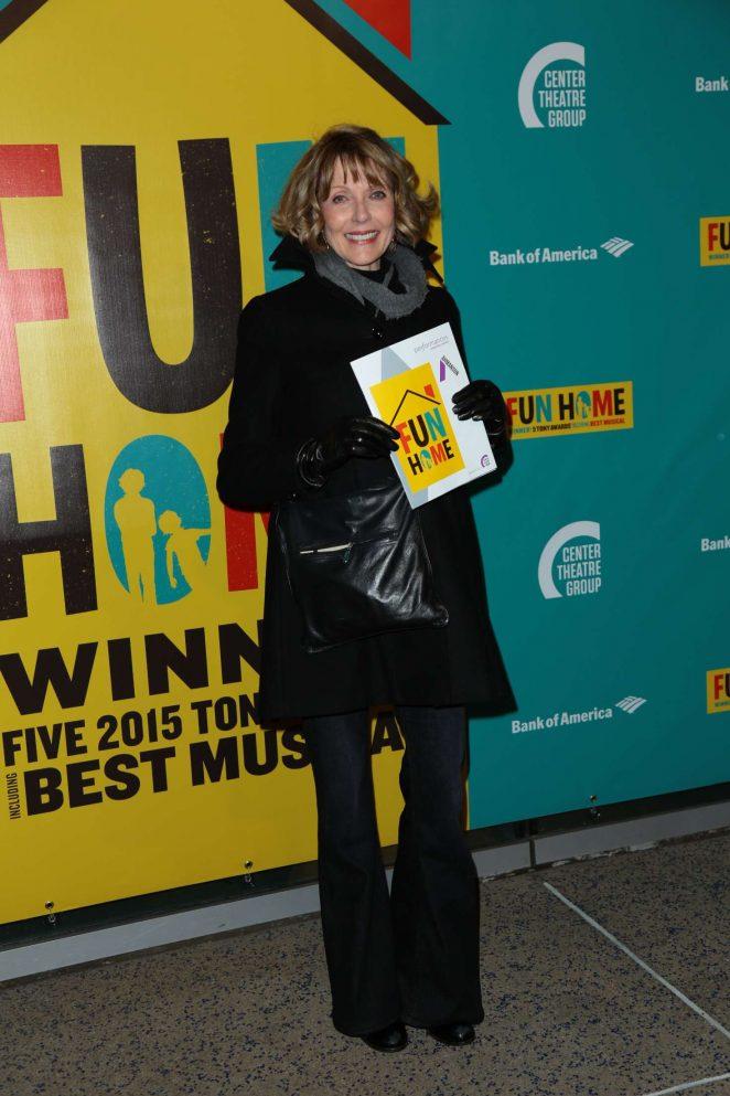 Susan Blakely - Media Tip 'Fun Home' in Los Angeles