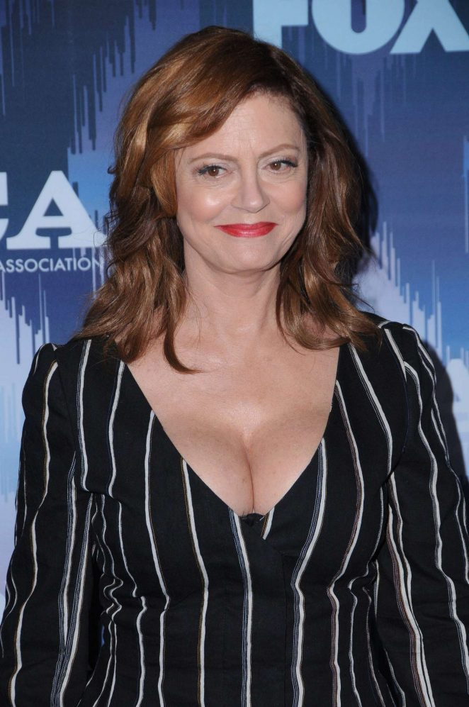 Susan Sarandon - 2017 FOX Winter TCA All Star Party in Pasadena