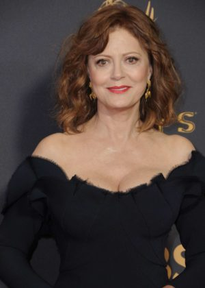 Susan Sarandon - 2017 Primetime Emmy Awards - Los Angeles