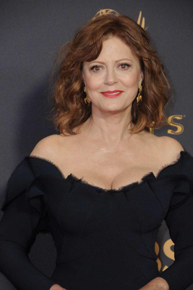 Susan Sarandon - 2017 Primetime Emmy Awards - Los Angeles