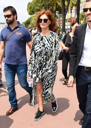 Susan Sarandon at the Martinez Hotel in Cannes