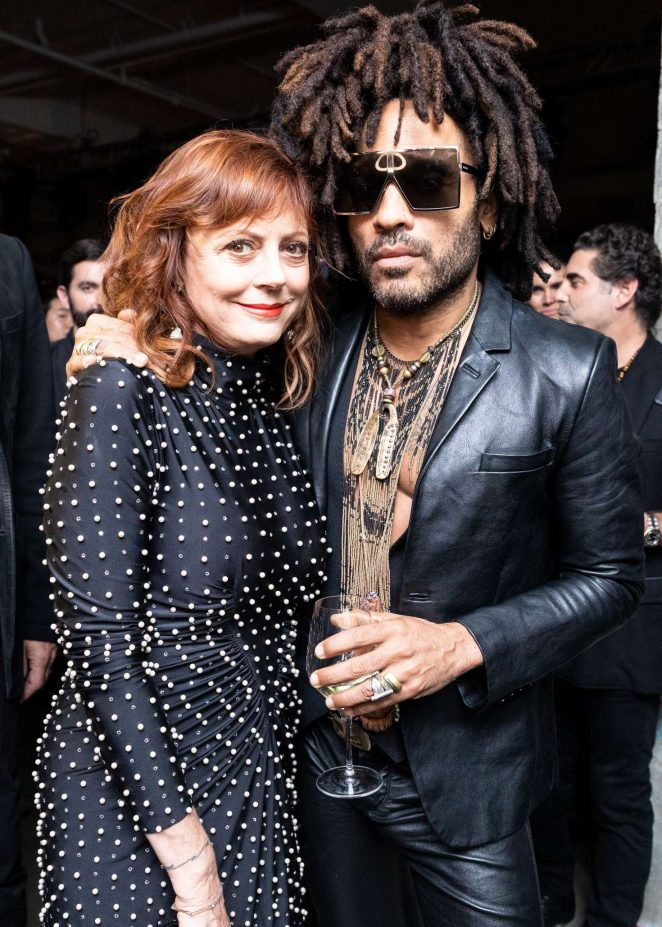 Susan Sarandon – Dom Perignon and Lenny Kravitz: 'Assemblage' Exhibition in NY