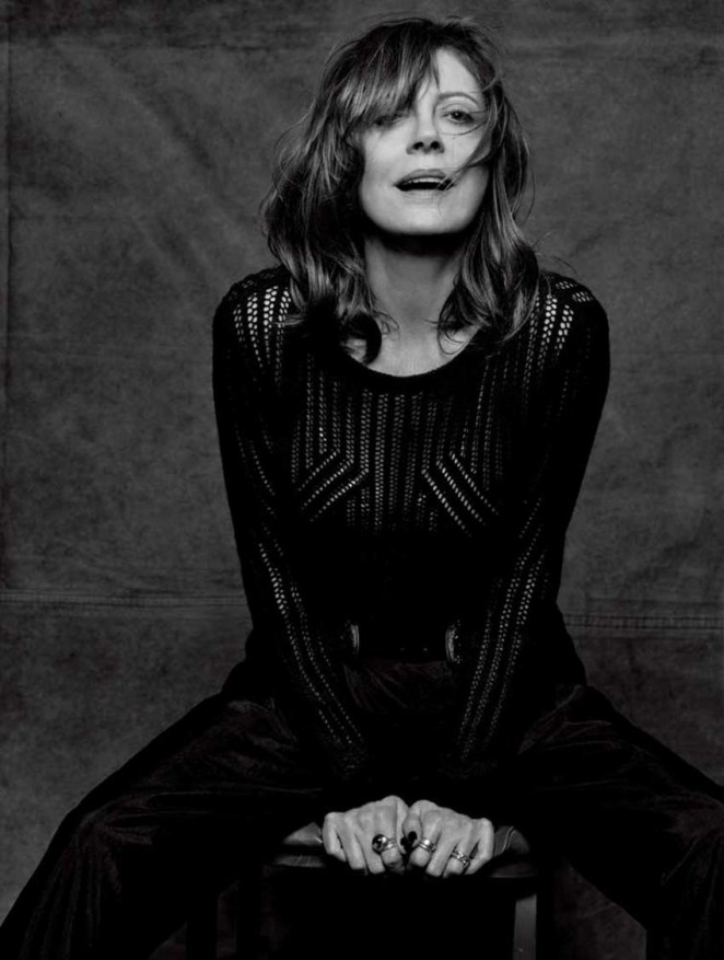 Susan Sarandon - Interview Magazine (April 2016)