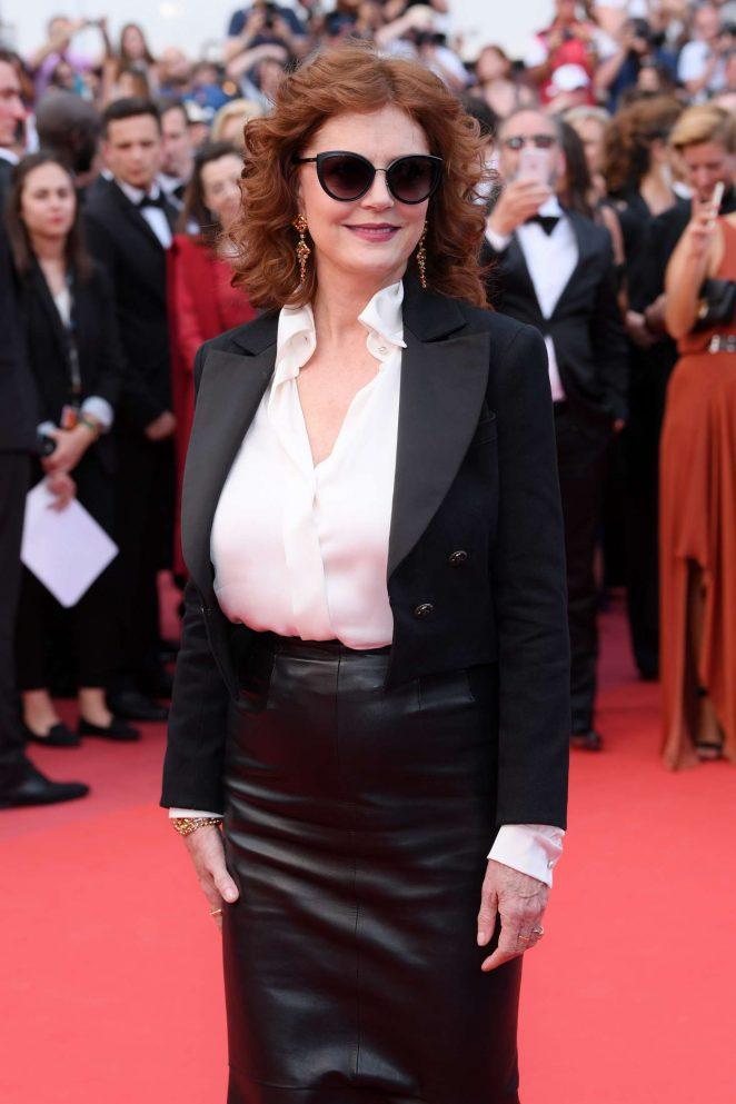 Susan Sarandon - 'Loveless' Premiere at 70th Cannes Film Festival