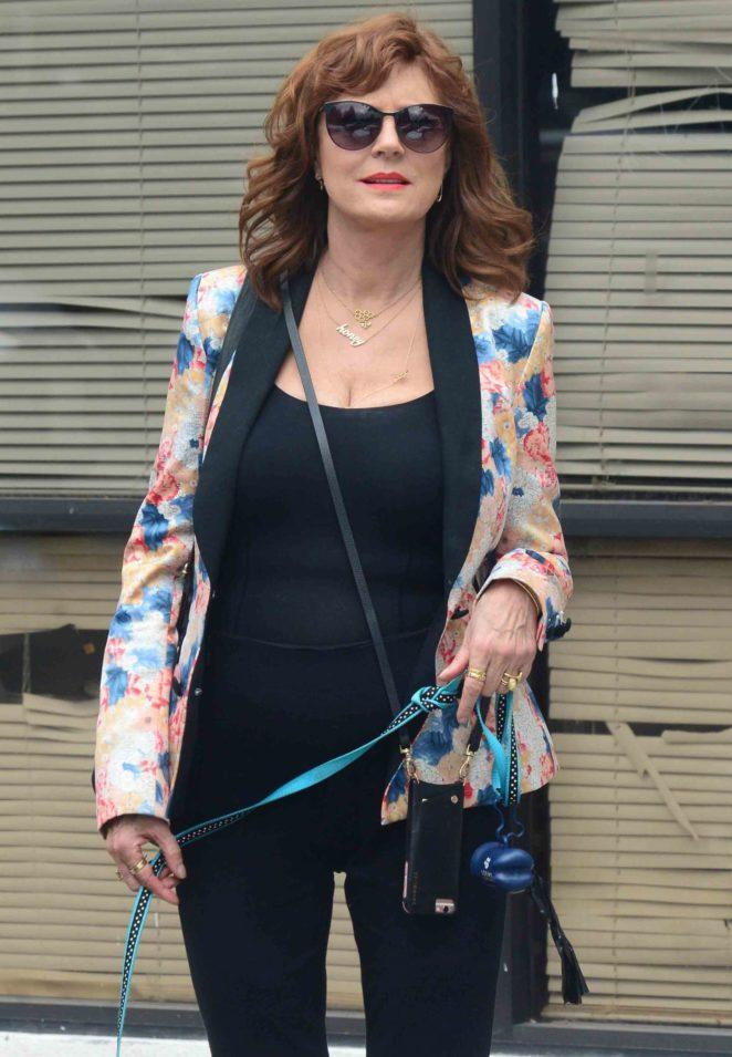 Susan Sarandon - Out in Studio City