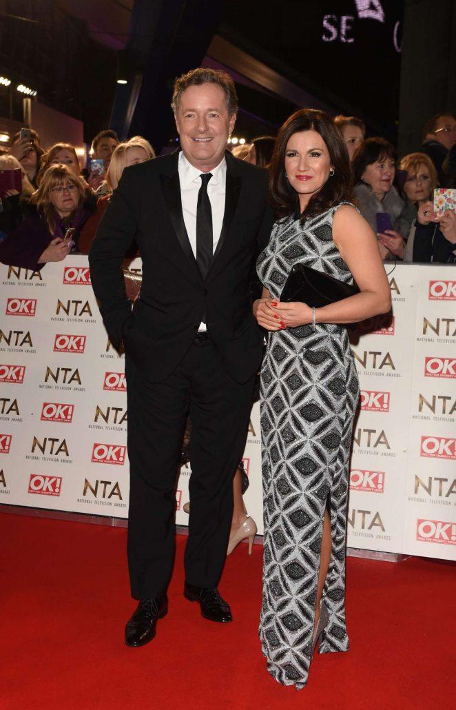 Susanna Reid - 2017 National Television Awards in London
