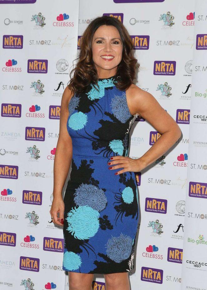 Susanna Reid - 2018 National Reality TV Awards in London