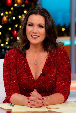 Susanna Reid - Good Morning Britain - 2020 Christmas Special TV Show