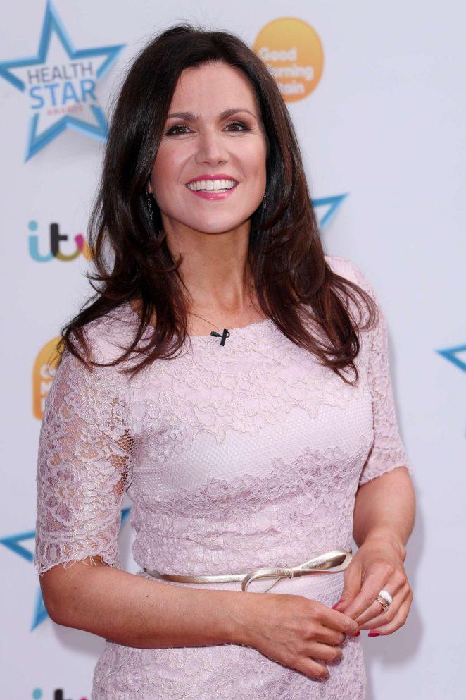 Susanna Reid - 'Good Morning Britain' Health Star Awards in London