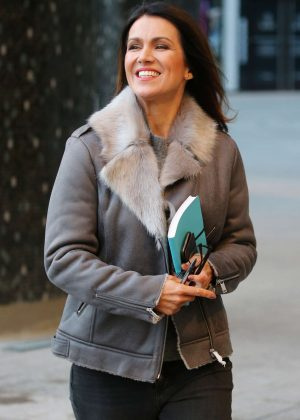 Susanna Reid - ITV Studios in London