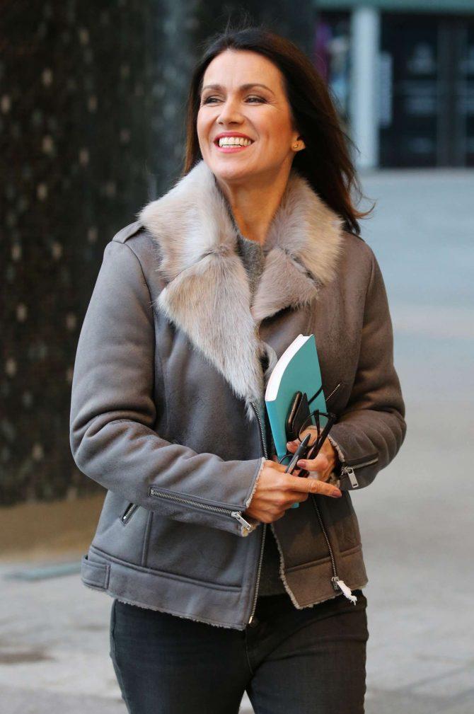 Susanna Reid - ITV Studios in London