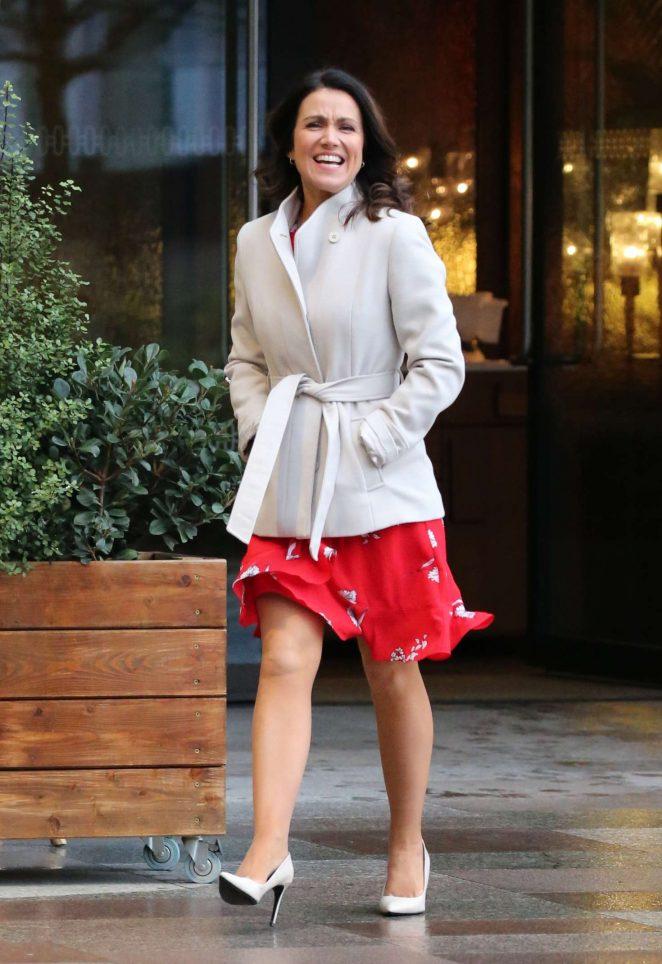 Susanna Reid – ITV Studios in London