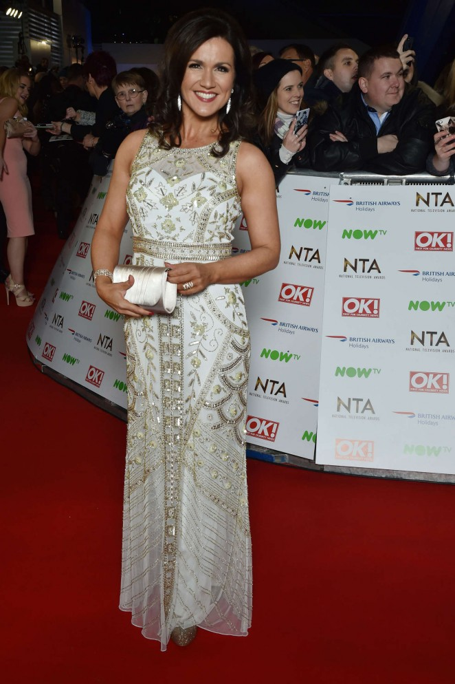 Susanna Reid - National Television Awards 2016 in London