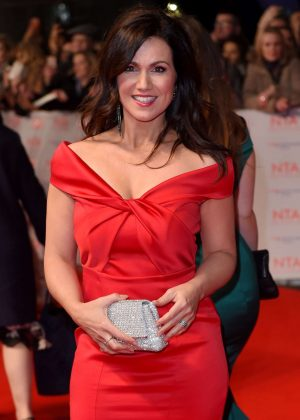 Susanna Reid - National Television Awards 2018 in London