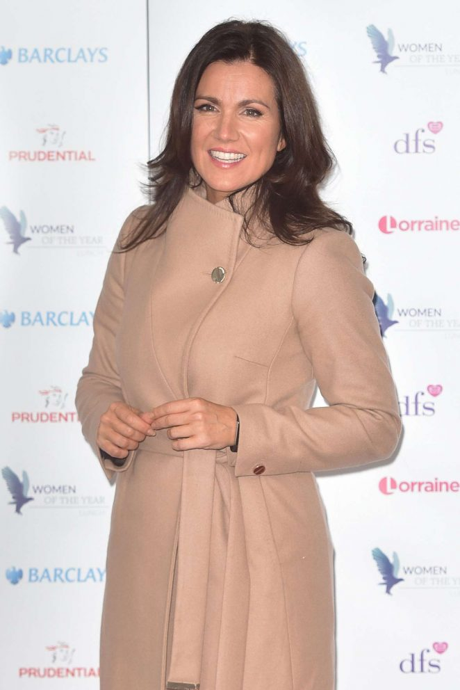 Susanna Reid - Red Women of the Year Awards 2016 in London