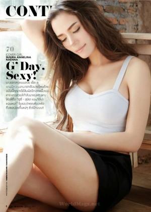 Susie Susira - Maxim Thailand Magazine (January 2015)