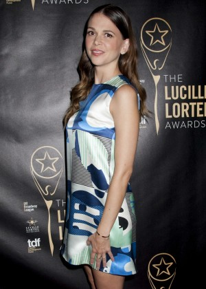 Sutton Foster - 2015 Lucille Lortel Awards in NYC
