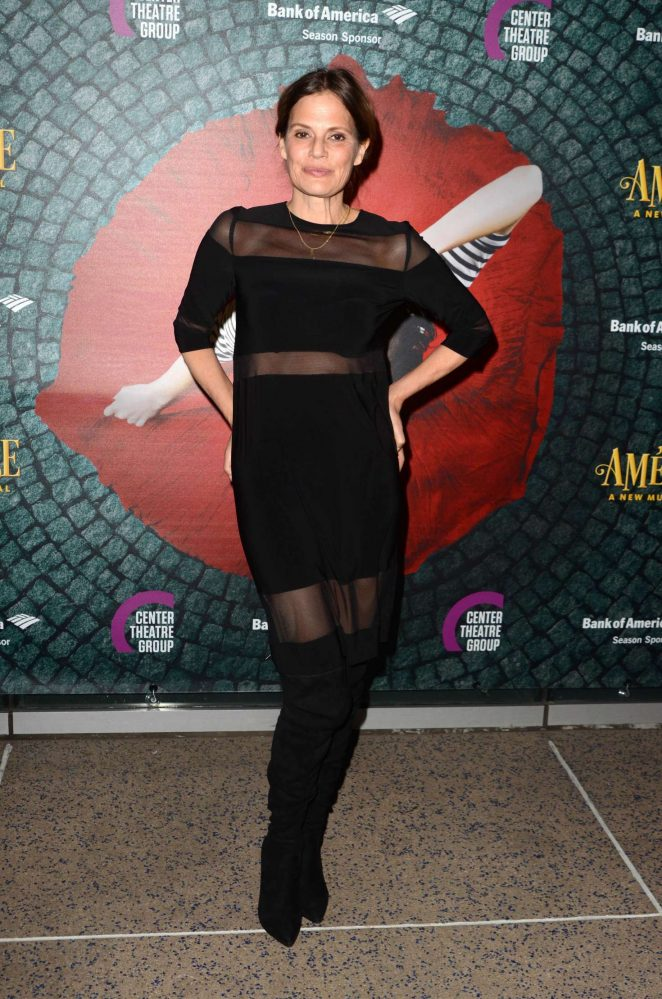 Suzanne Cryer - The Amelie, A  New Musical Opening in Los Angeles