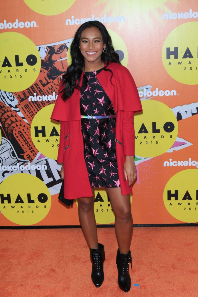Sydney Park - 2015 Nickelodeon HALO Awards in NYC