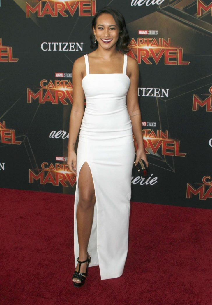 Sydney Park - 'Captain Marvel' Premiere in Los Angeles
