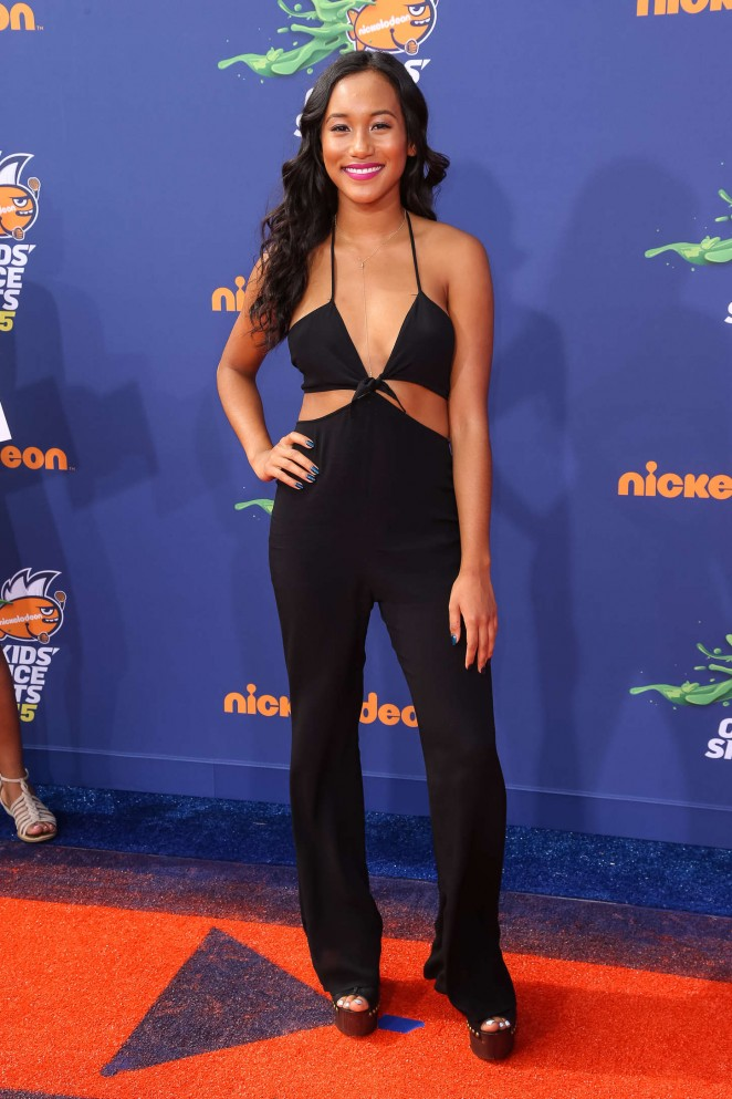 Sydney Park - 2015 Nickelodeon's Kids' Choice Sports ...