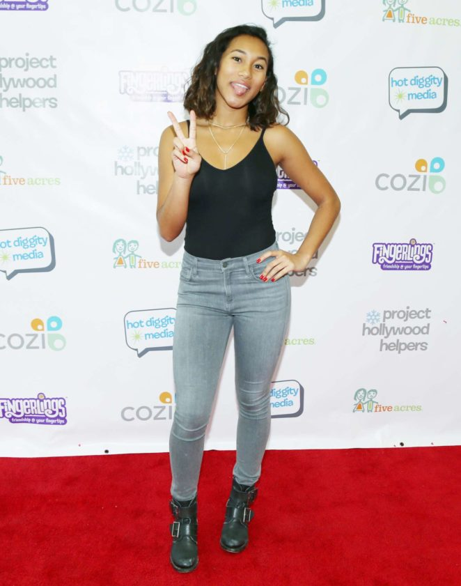 Sydney Park - Project Hollywood Helpers Event in Los Angeles