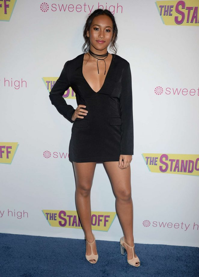 Sydney Park - 'The Standoff' Premiere in Los Angeles