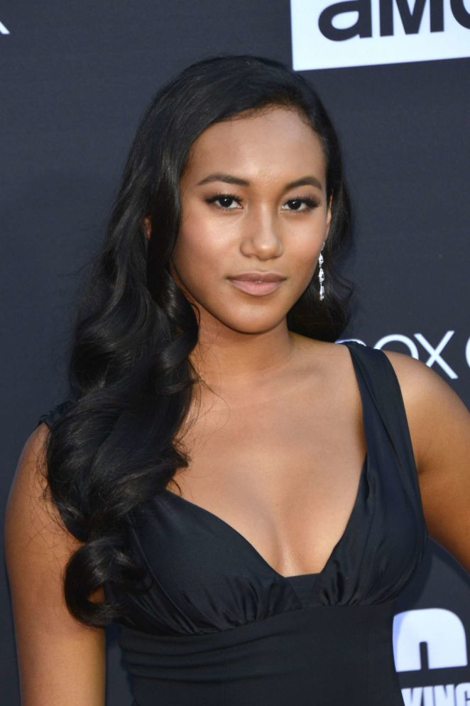 Sydney Park - 'The Walking Dead' 100th Episode Premiere and Party in LA