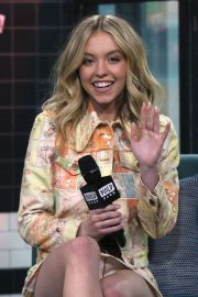Sydney Sweeney - On Build Series to discuss 'Euphoria' in New York City