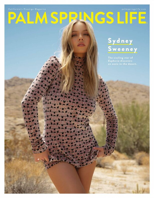 Sydney Sweeney - Palm Springs Life Magazine