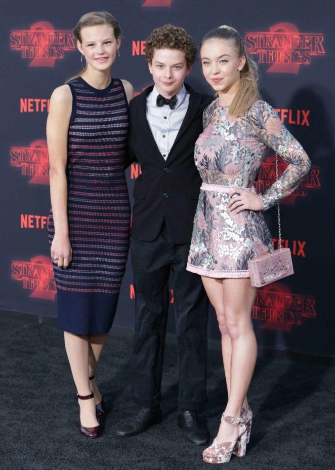 Sydney Sweeney - 'Stranger Things 2' Premiere in Los Angeles