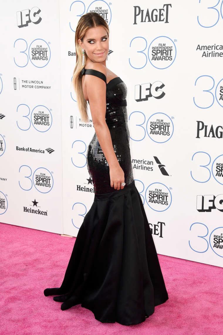 Sylvie Meis 2015 : Sylvie Meis: 2015 Film Independent Spirit Awards -04
