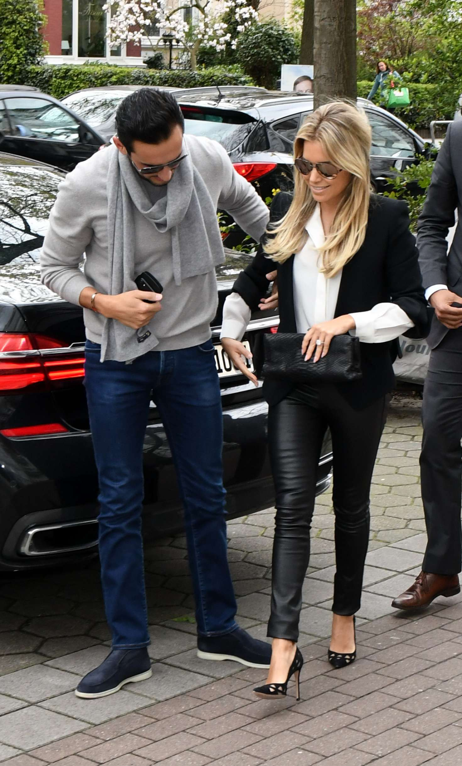Sylvie Meis And Charbel Aouad Out In Hamburg 06 Gotceleb