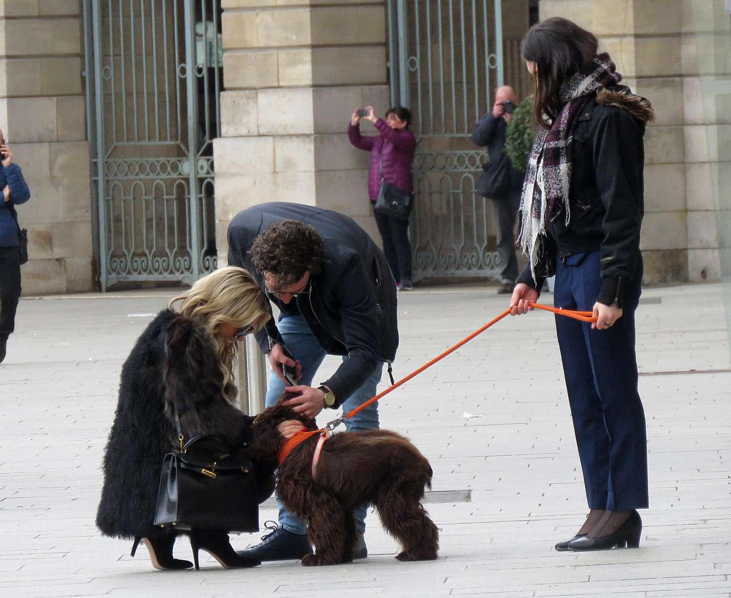 Sylvie Meis 2018 : Sylvie Meis and her boyfriend out in Paris -04