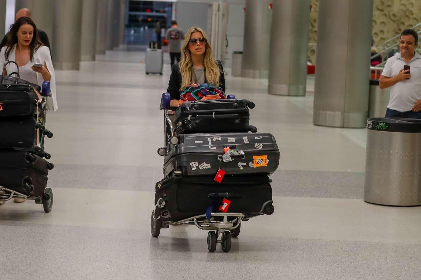 Sylvie Meis 2017 : Sylvie Meis Arrives at Airport in Miami -03