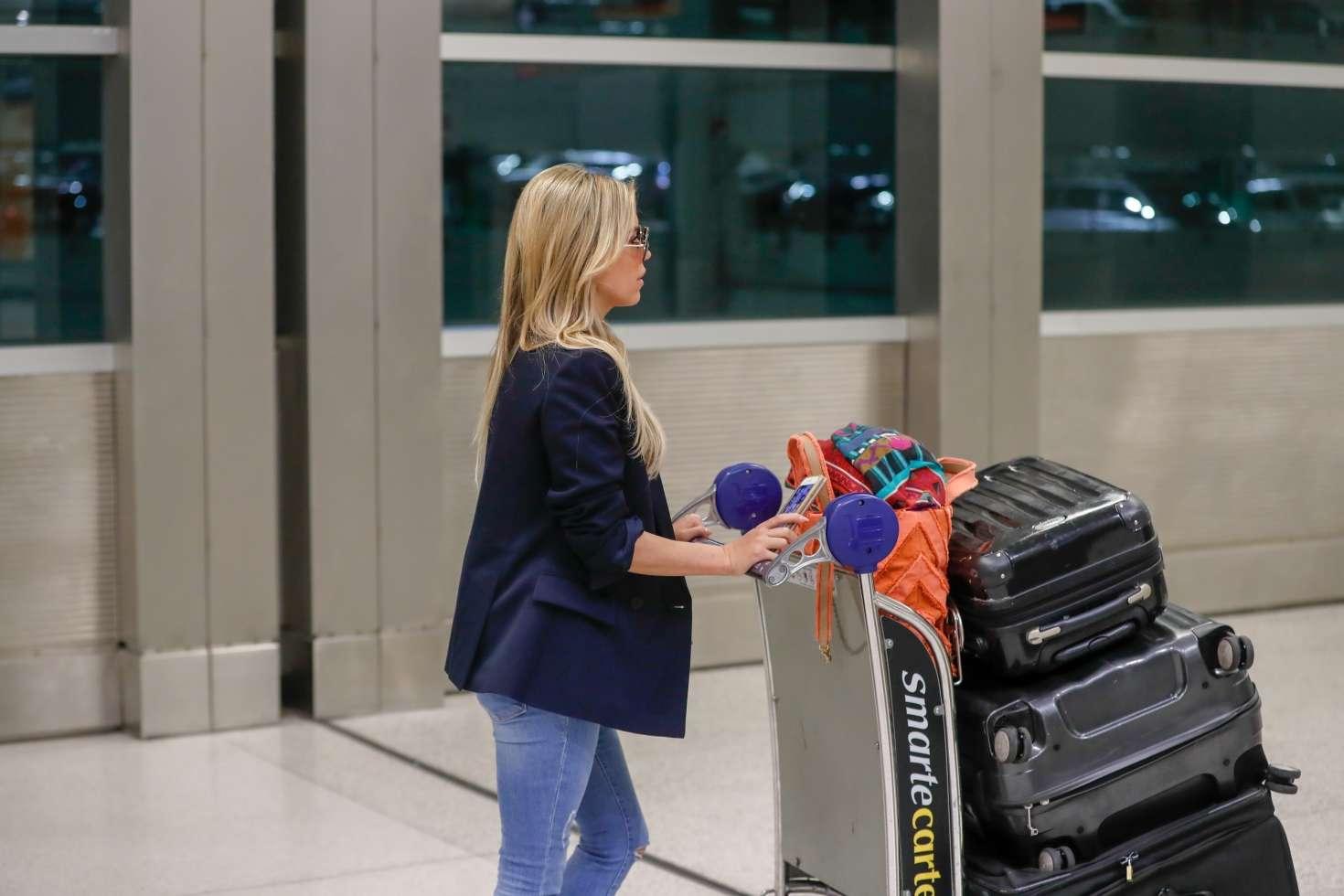 Sylvie Meis 2017 : Sylvie Meis Arrives at Airport in Miami -06