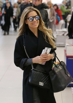 Sylvie Meis at Airport in Koln