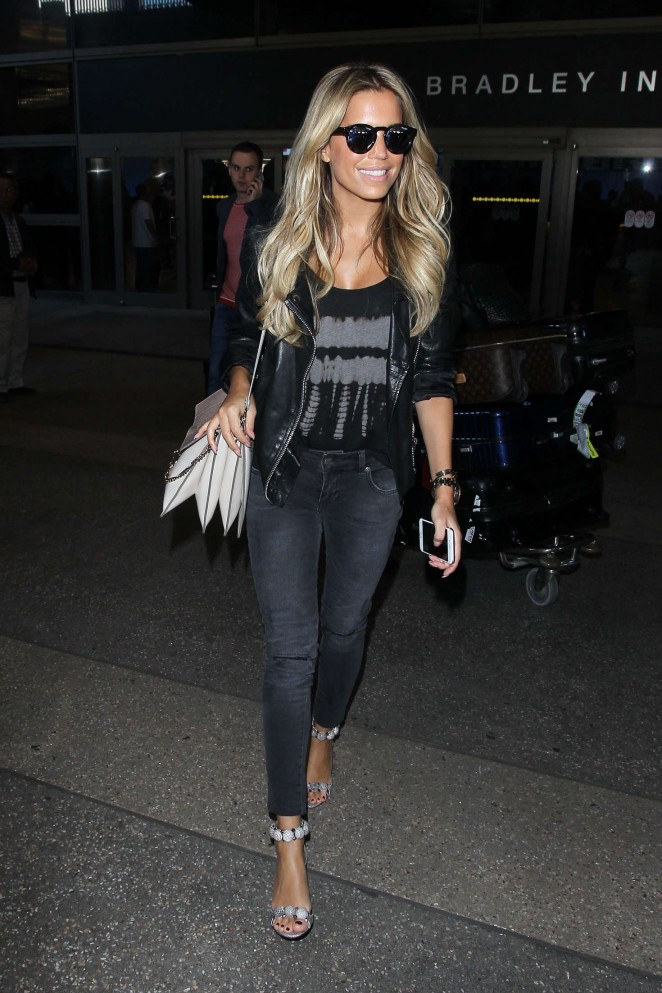 Sylvie Meis at LAX Airport -04