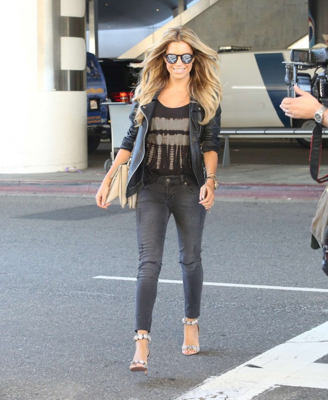 Sylvie Meis at LAX Airport -07