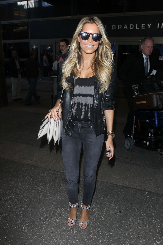 Sylvie Meis at LAX Airport -09
