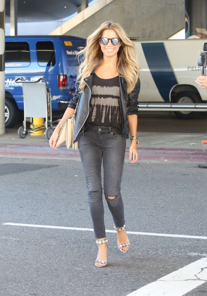 Sylvie Meis at LAX Airport -12