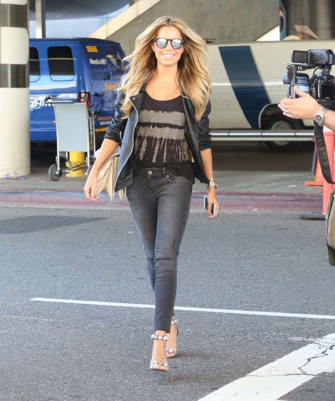 Sylvie Meis at LAX Airport -17