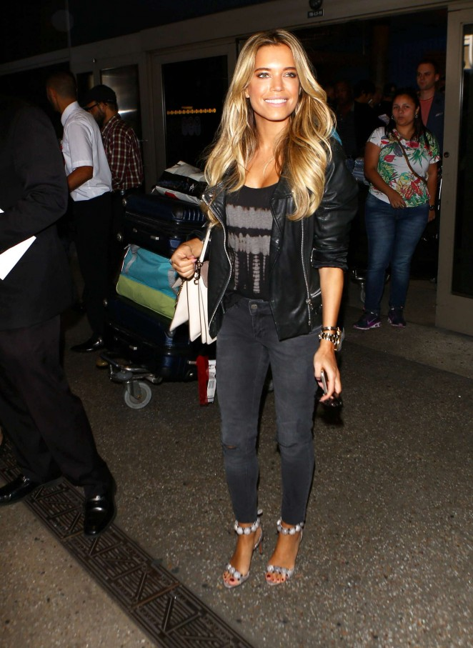 Sylvie Meis at LAX Airport -22