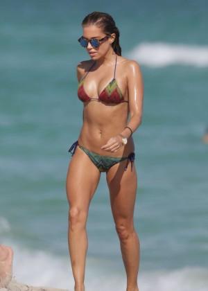 Sylvie Meis in Bikini in Miami
