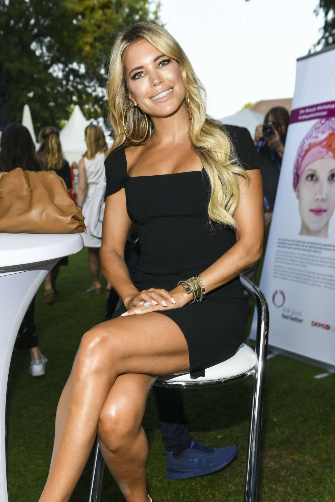 Sylvie Meis – Citizens Party of the Federal President at Schloss Bellevue in Berlin