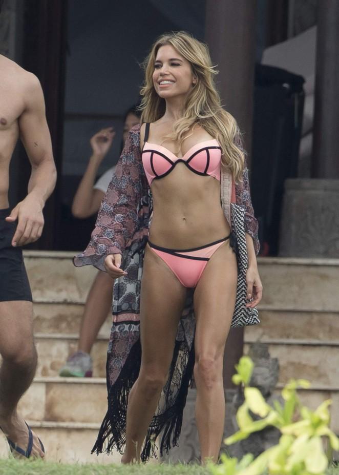 Sylvie Meis in Bikini -04