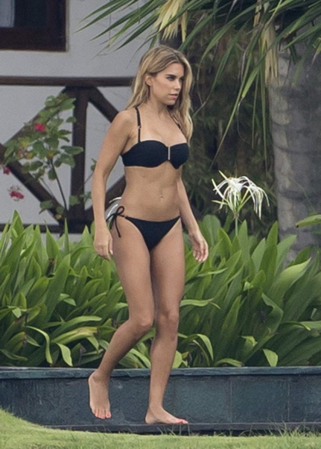 Sylvie Meis in Bikini -06